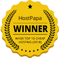 WSHR Top 10 Cheap Hosting 2018 Winner