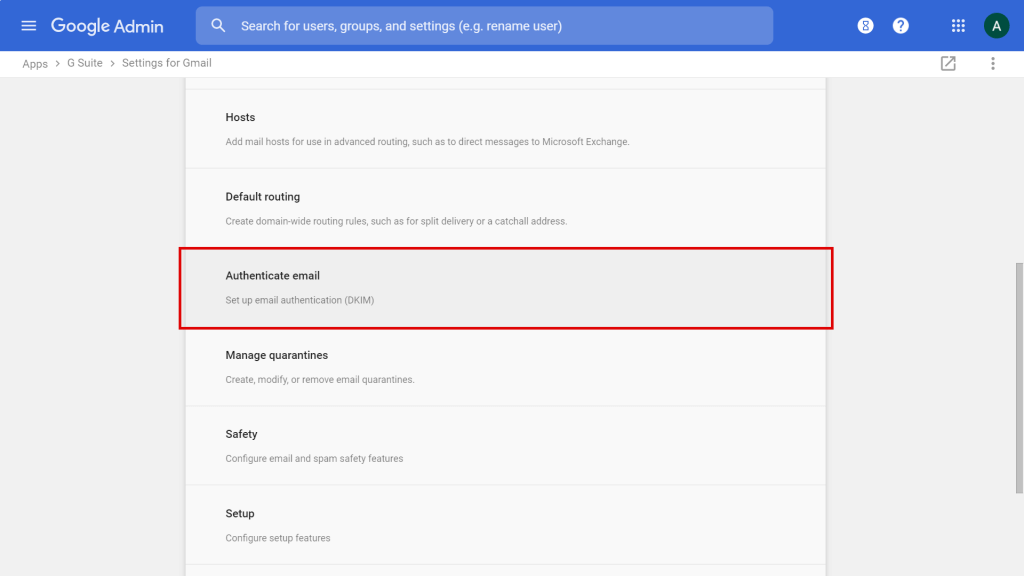 How to Set up your Google Workspace SPF